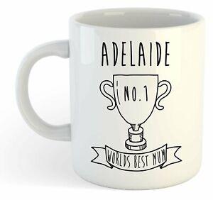 Adelaide - Monde Meilleure Maman Trophy Tasse - Pour Cadeau De Fête Des Mères , Psv0troo-07235717-816789557