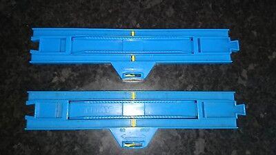 GO STATION  STRAIGHT TOMY BLUE TRACK STOP THOMAS TANK TRACKMASTER ROAD /& RAIL