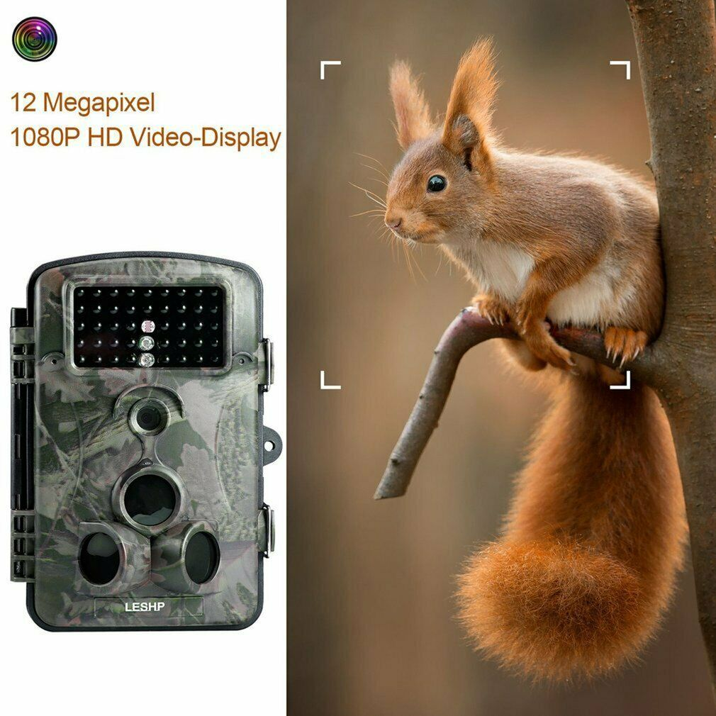 Game & Trail Hunting Wildlife Camera 12MP FHD 1080P Night Vision Waterproof MY