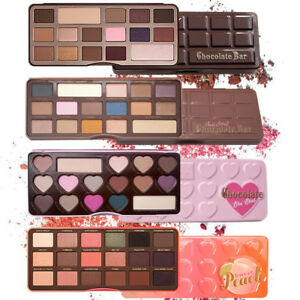 Eyeshadow-Palette-Makeup-Chocolate-Bar-Sweet-Peach-Semi-Bon-Bons-With-Free-Brush