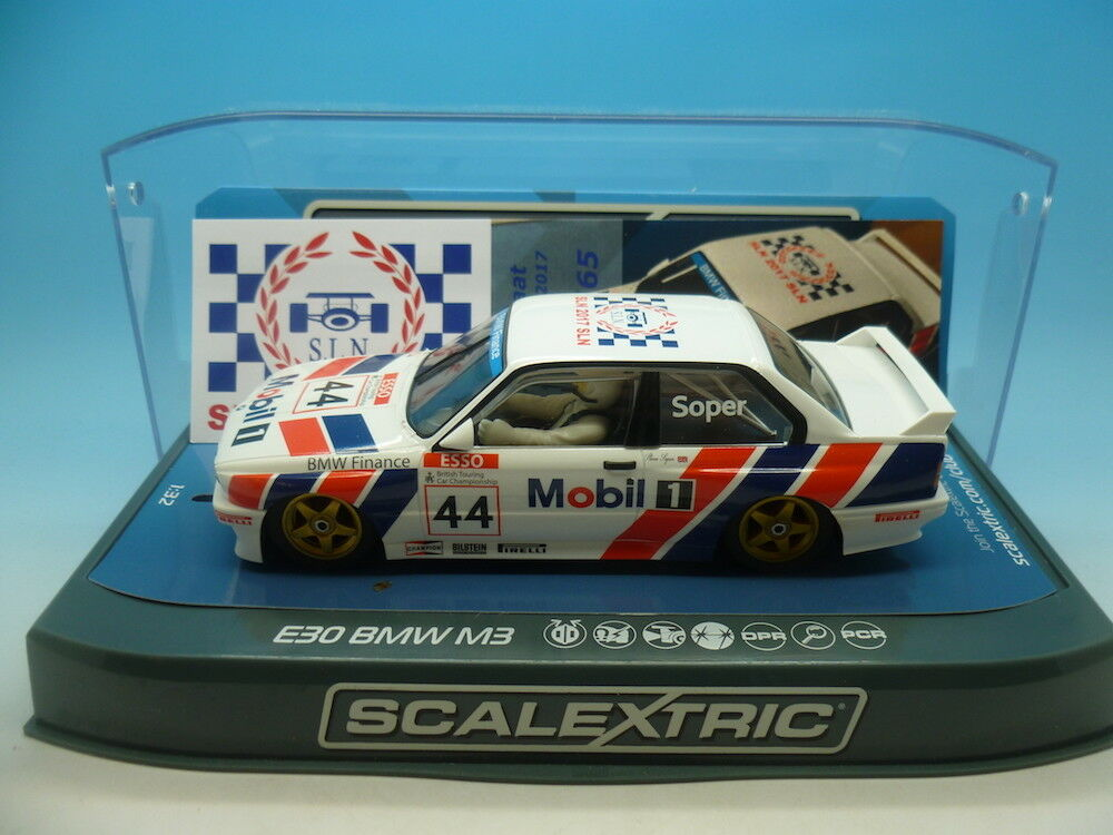 Scalextric C3782 SLN 2017 E30 BMW M3 limited edition of only 65