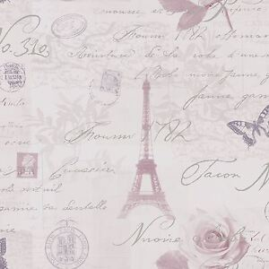 Calligraphie-Paris-Carte-Postale-Papier-Peint-Bruyere-Holden-97751-Neuf
