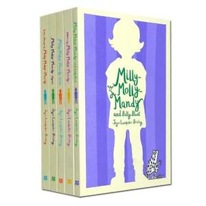 Milly Molly Mandy 5 Books Set Collection by Joyce Lankester Brisley NEW