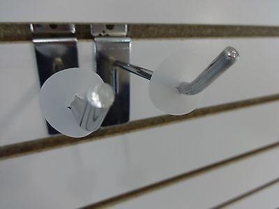 200 3-Holed Design Inventory Control Product Stop Peg Hook Shelf Management Qty
