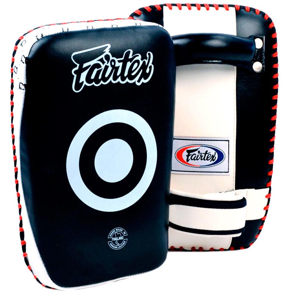 Fairtex Thai Pads KPLC1  Small Muay Thai Curved Thai Pads MMA Thai Pads Training  free shipping