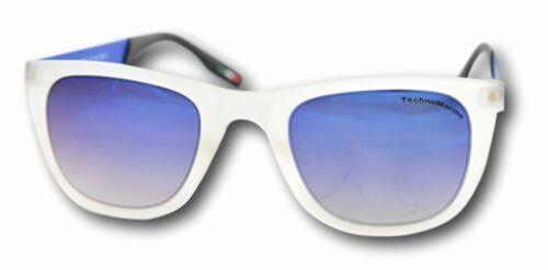 TechnoMarine Black Reef Sunglasses Blue Camouflage Made in Italy TMEW001-08