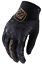 TROY-LEE-DESIGNS-TLD-WOMENS-BLACK-ACE-2-0-CHEETAH-MTB-CYCLING-GLOVES-size-SMALL miniature 1