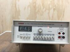 Tenma 72 7400 Precision Millimicro Ohmmeter Used Condition