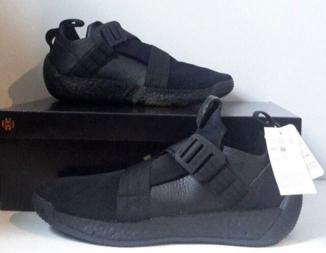 fdbe95324a6f ADIDAS HARDEN LS 2 BUCKLE BASKETBALL SHOES CORE BLACK GREY F33831 SHOES SZ  11.5