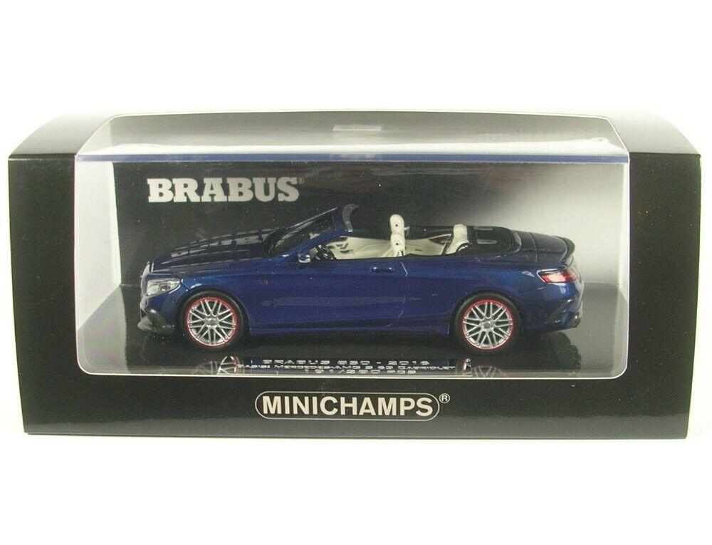 apresurado a ver Brabus 850 850 850 a base de Mercedes-Benz AMG s 63 cabriolet (azul oscuro) 2016  entrega gratis