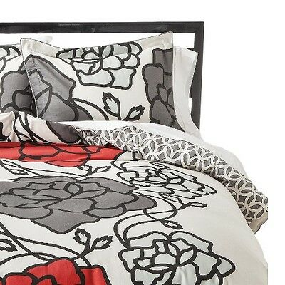 Pop Floral Duvet Cover Set
