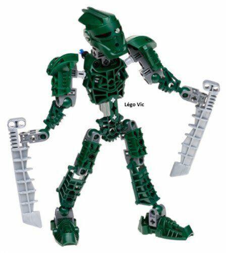 Lego 8605 Bionicle Metru Nui Toa Metru Toa Matau complet à 100/% de 2004 C279