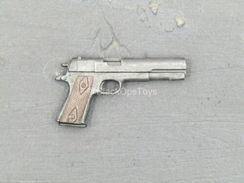 1//6 Scale Toy TERMINATOR 2 sarah connor-Weathered Long Glisser Pistolet 1911