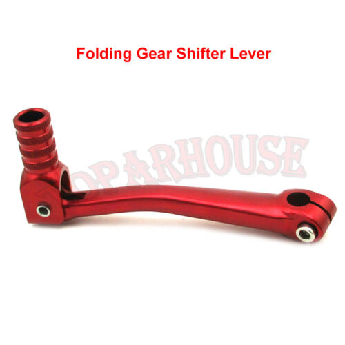Red Folding Gear Shifter Lever For SSR XR50 CRF50 CRF70 125cc-160cc Dirt PitBike