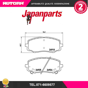 PAH12AF-Kit-pastiglie-freno-a-disco-ant-Hyundai-Kia-MARCA-JAPANPARTS
