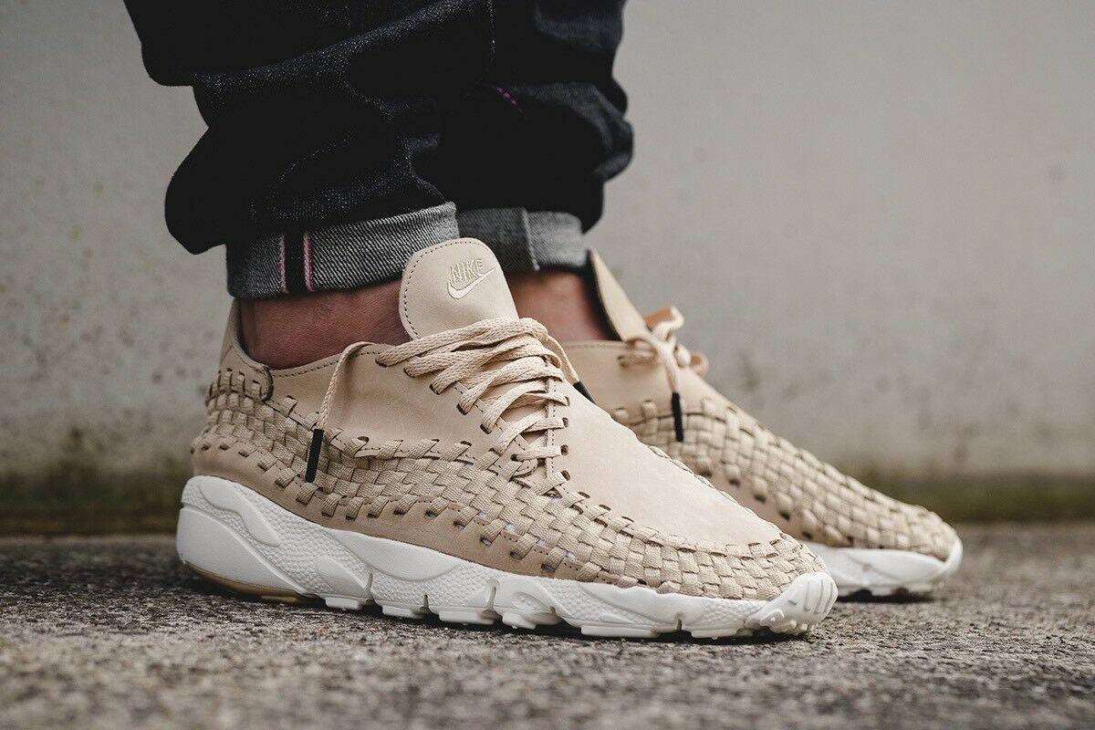 Nike Footscape woven NIKELAB Sand Linen 12  0  / 11 UK 0  authentic SALE 3b78e5