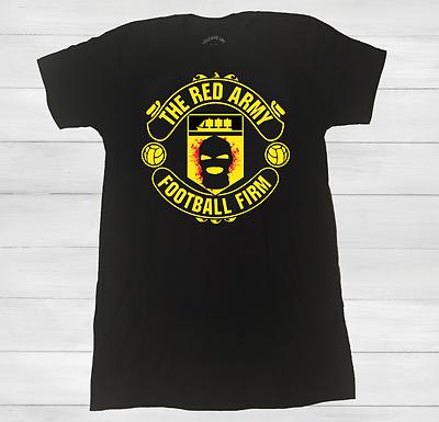RED ARMY T SHIRTJersey Manchester United Soccer Football Man U FIRM 1 | eBay
