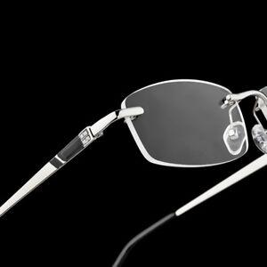 540154400515 Image is loading Rimless-Diamond-Eyeglasses-Women-Men-Glasses-Frame-Optic-
