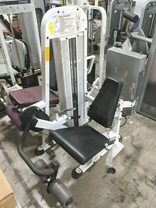 Details about Tuff Stuff KNEE LEG EXTENSION Selectorized Gym Fitness  Exercise Weight Machine