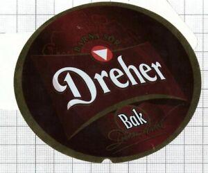 HUNGARY-Dreher-Sorgyarak-Budapest-DREHER-Bak-beer-label-C2240-070