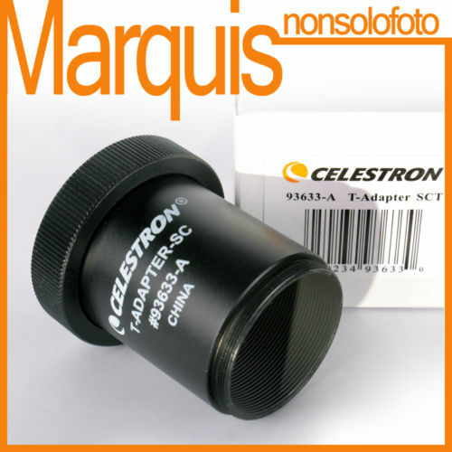 T-Adapter SCT CELESTRON CE93633‐A  Astronomia Marquis