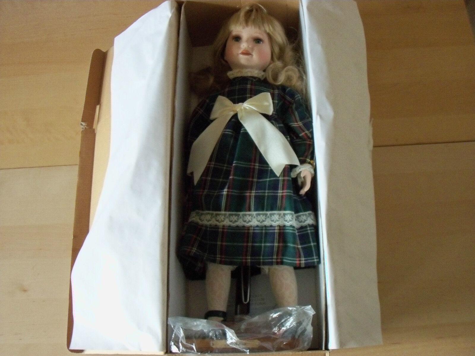 Superb Alberon 20 20 20  Porcelain Doll - Shona - Limited Edition - BNIB - FREE P&P e2d700