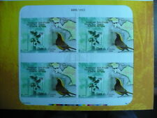 Indonesia - 2006 Flora / Fauna Uncut sheet of 4 MS - Limited edition 5000 MNH
