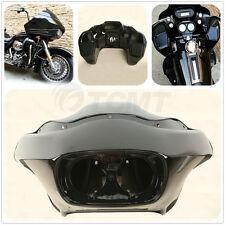 Vivid Black Injection ABS Inner & Outer Fairing For Harley FLTR Road Glide 98-13