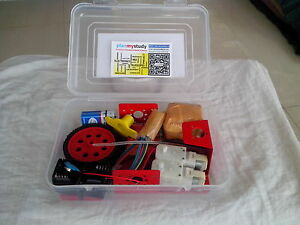 Robot kit with motor driver board do it yourself learn build image is loading robot kit with motor driver board do it solutioingenieria Gallery