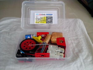 Robot kit with motor driver board do it yourself learn build image is loading robot kit with motor driver board do it solutioingenieria Image collections