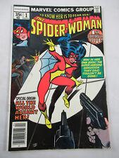 Spider-woman 1st 2 Marvel 1978 Wolfman Infantino DeZuniga Cockrum