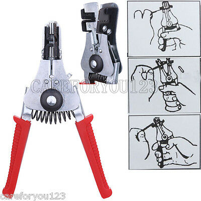 Automatic Cable Wire Stripper Stripping Crimping Crimper Plier Hand Tool Cutter