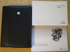 hyundai i30 owners manual handbook wallet audio service book 2011 rh ebay co uk 2015 Hyundai I30 Hyundai I30 2014