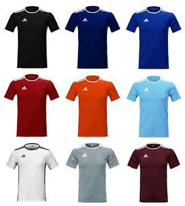 3d6d41075 Adidas Entrada 18 S S Jersey (CD8382) Soccer Football Training Top T ...