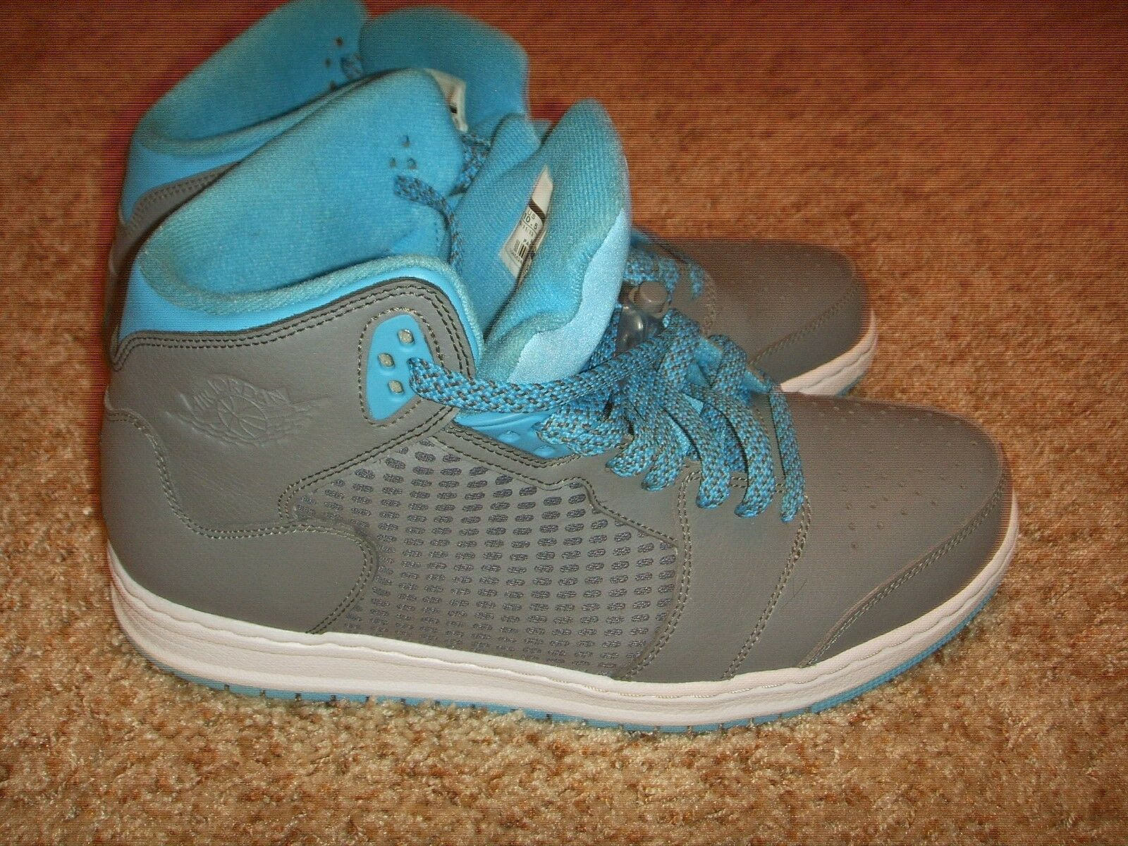 Nike Jordan Prime 5 Grey Powder Blue Basketball Shoes 429489 007 Mens Comfortable Cheap women's shoes women's shoes