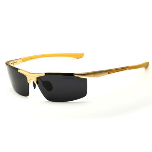 VEITHDIA Aluminium Polarized Sunglasses Pilot Mens Sports Goggle Driving Eyewear