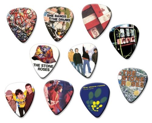 Stone Roses Limited To 150 Sets Set of 10 Loose Guitar Plectrums