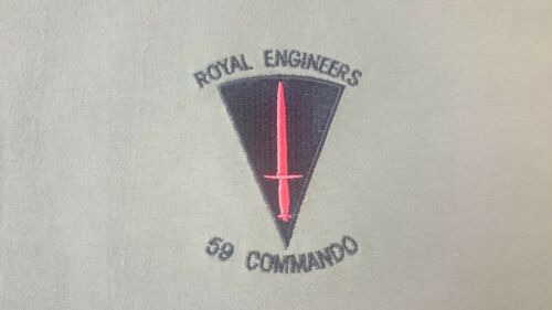 Armée Britannique RE Royal Engineers 59 Commando Polo Shirt