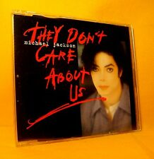 MAXI Single CD Michael Jackson They Don't Care About Us 6TR 1996 Pop Hip Hop