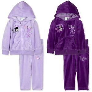 bb7c90eff8412 Disney Minnie Mouse Bébé Survêtement Fille Tenue Vêtements Set ...