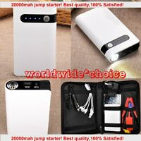 20000mah Emergency Car Jump Starter Battery Charger Power Bank Booster Mini Auto on sale