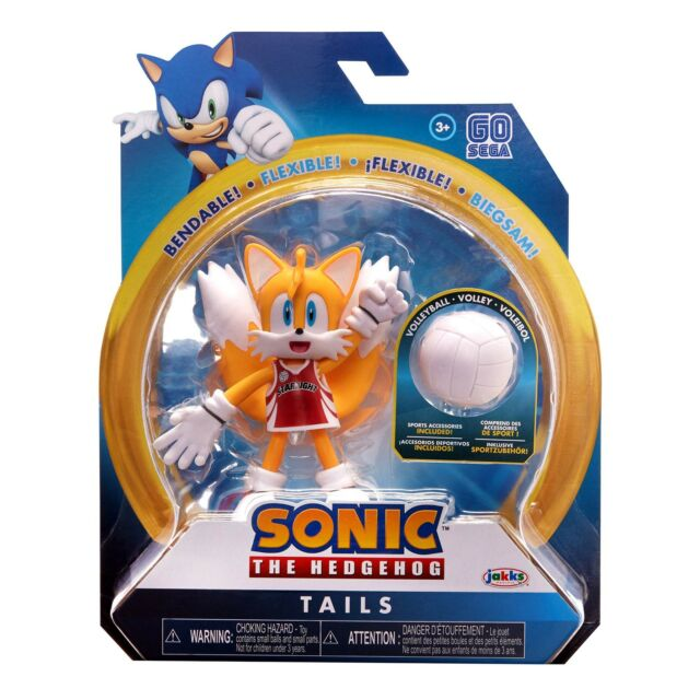 Sonic the Hedgehog ~ KNUCKLES WAVE 3 ACTION FIGURE w//BENDABLE ARMS /& LEGS