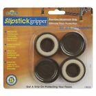 Slipstick CB525 1-3/4 Round Gripper Coasters Leg 4 Pieces
