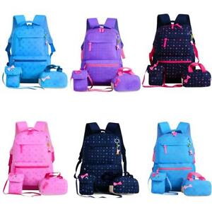 870dfd8167cf 3PCS Kid Children Girl Primary School Book Bag Backpack Rucksack ...