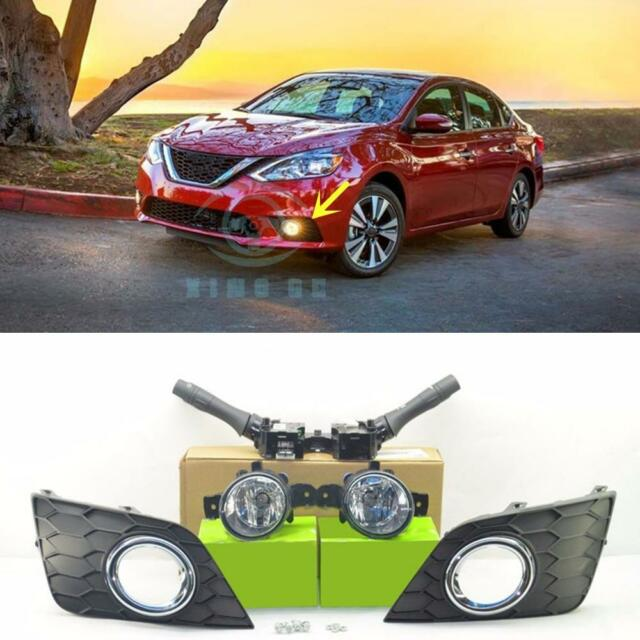 New Fog Lamp Light Kit With Auto Head Lights For Nissan