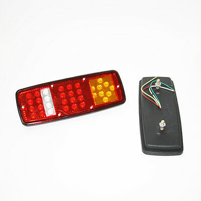 New Led Rear Tail Lights Lamps Lorry Campervan Camper Caravan Van Motorhome 12V
