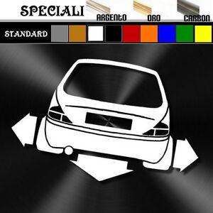 adesivo-sticker-LANCIA-Y-elefantino-tuning-down-out-dub-prespaziato-auto-decal