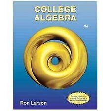 College Algebra by Ron Larson (2013, Hardcover)