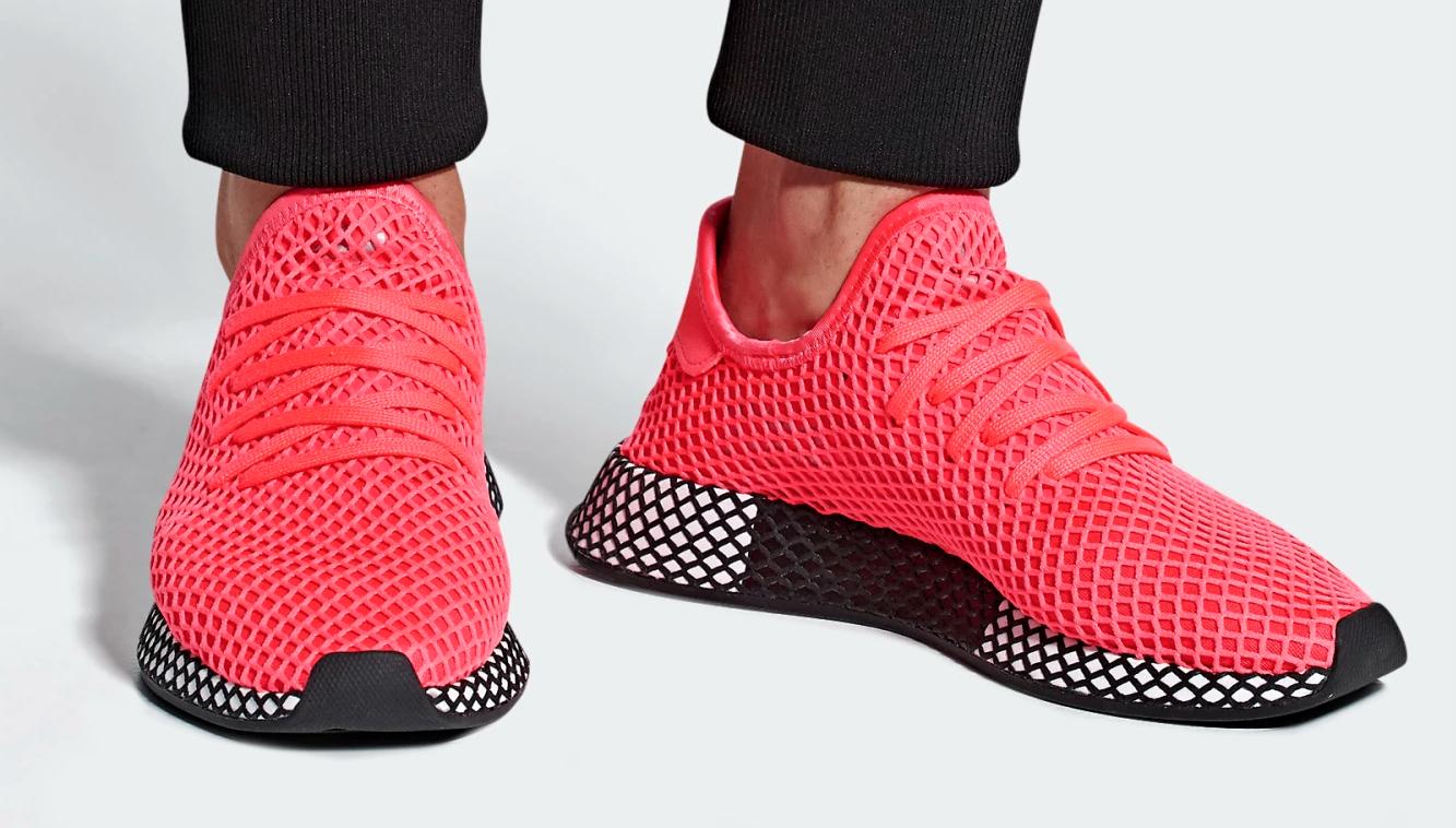 Adidas Originals Deerupt Runner Turbo Zapatillas para para para hombre estilo de vida Talla 9.5 de EE. UU. f00e2e