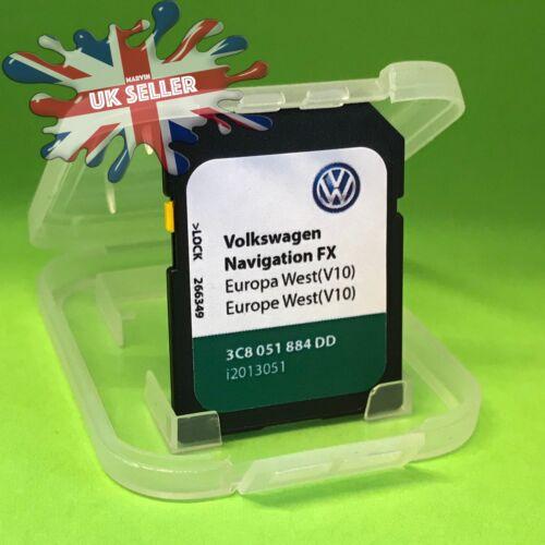VOLKSWAGEN VW RNS310 SD Card V10 FX Sat Nav Map Navigation 2018 UK and EUROPE